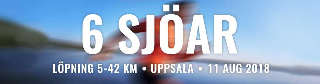 6 sjöar - maraton i Uppsala