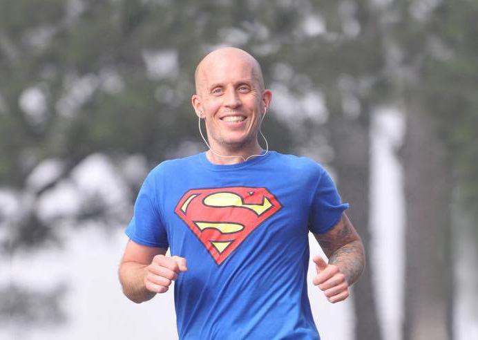 Thomas Alm 40@40 marathon