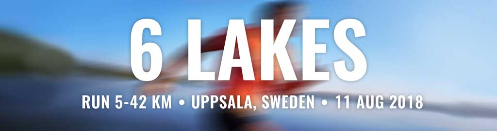 6 lakes marathon Sweden