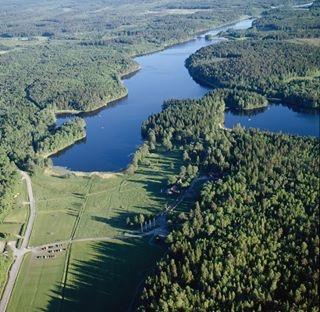 Startar du i Fjällnora, kan du välja mellan sex sjöar. Foto: Digitalt museum / Avena