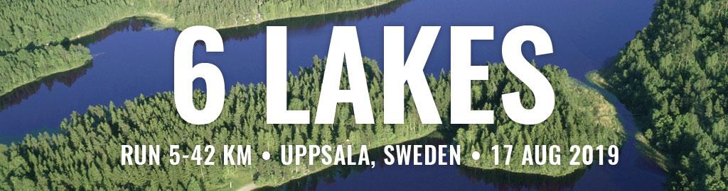 6 lakes marathon, half marathon, 10k, 5k